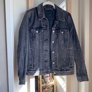Washed Black Levi's Denim Jacket